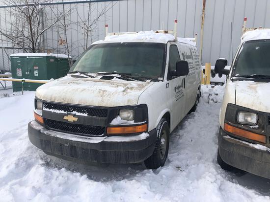 2014 Chevrolet Express Van, VIN # 1GCWGFCA9E1120491