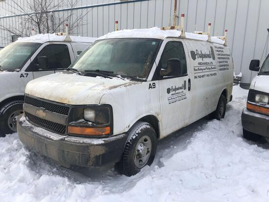 2014 Chevrolet Express Van, VIN # 1GCWGFCA7E1121168
