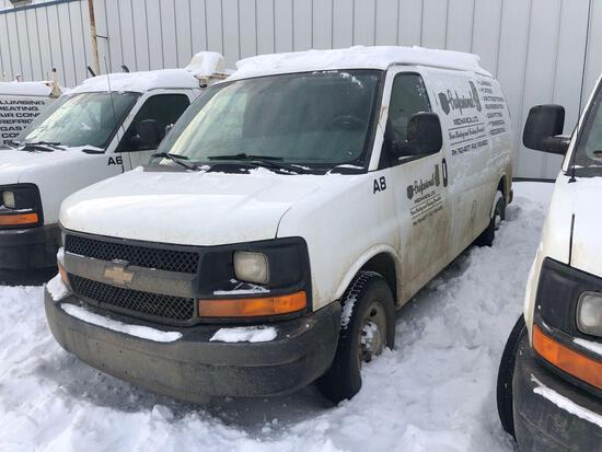 2014 Chevrolet Express Van, VIN # 1GCWGFCA2E1106870