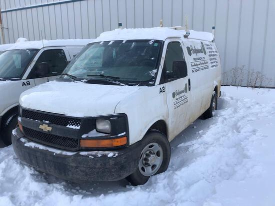 2012 Chevrolet Express Van, VIN # 1GCWGFCA8C1198225