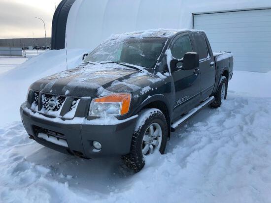 2008 Nissan Titan Crew Cab 4X4 Pickup Truck, VIN # 1N6AA07C48N345545