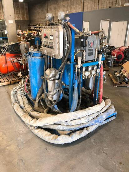 Skidded Graco Industrial Paint System