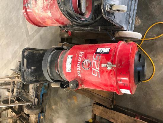 Pullman Ermator S26 HEPA Dust Extractor, 0hrs Showing