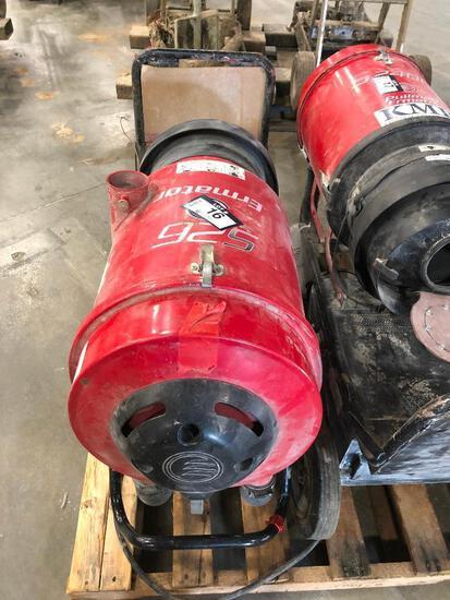 Pullman Ermator S26 HEPA Dust Extractor, 1,264hrs Showing