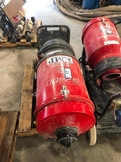 Pullman Ermator S2400 HEPA Dust Extractor, Hrs N/A