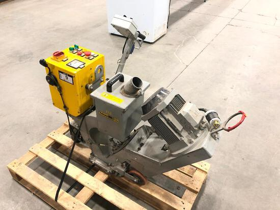Trimm T21 Shot Blasting Machine, 200hrs Showing