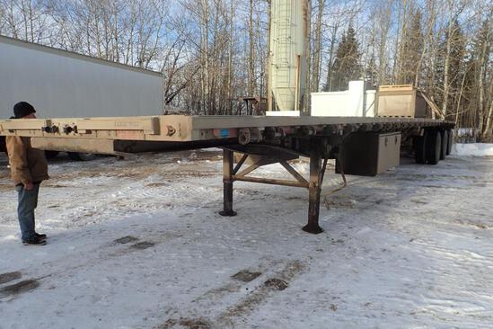 2000 Lode King 53' Tridem Axle Combo Highboy Trailer. VIN 2LDPA533XYC032733.