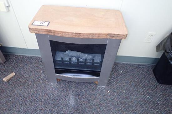 Lot of 2 Electric Fireplaces.