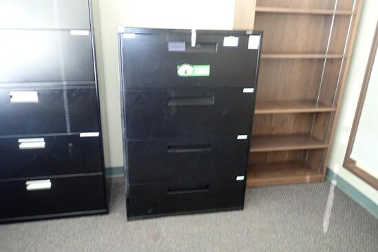Lateral 4-drawer File Cabinet.