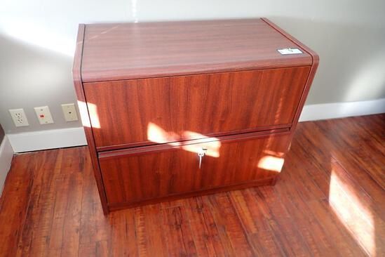 Lateral 2-drawer File Cabinet.
