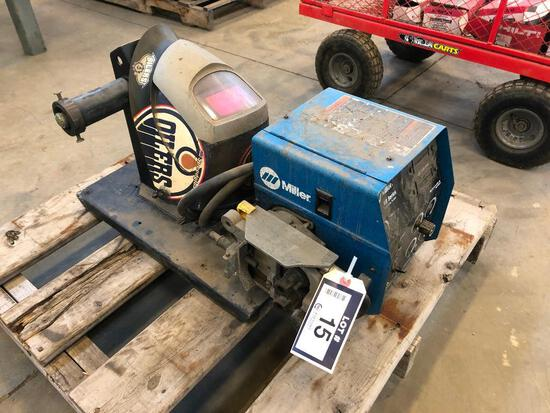 Miller 60 Series 24V Wire Feeder w/ Welding Mask