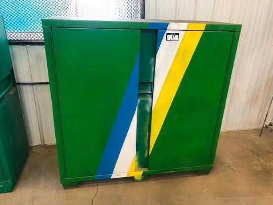 Greenlee 5660L 2-Door Cabinet