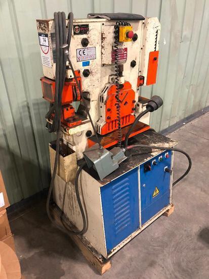 2008 Sunrise Hydraulic 50-TON Iron Worker 1W-50K, Serial: 383855