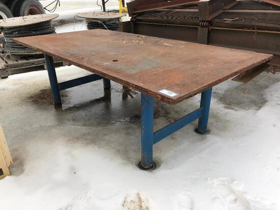 8? X 4? Steel Welding Table