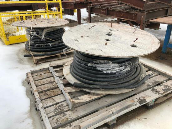 Lot of (2) Spools of Asst. Wire