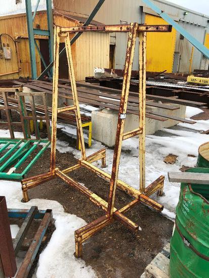 Steel Shop-Built Hanging Rack