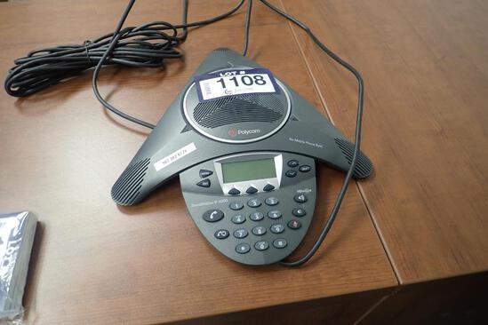 Polycom SoundStation IP 6000 Conference Phone.