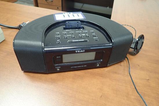 Teac SR-L230i Hi-Fi Table Radio.