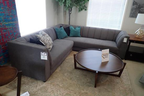 Marzilli Lemans 2-Piece Sectional w/ LHF Loveseat and RHF Sofa- Approx. 9' & 8 1/2'.