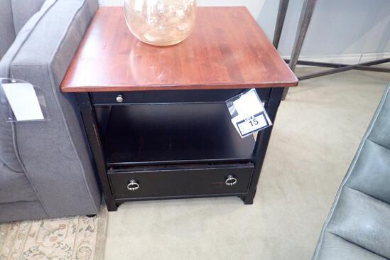 """Drexel Heritage 30"""" Square End Table."""