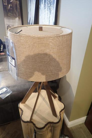 ARTE Wellington Wood Slat Lamp.