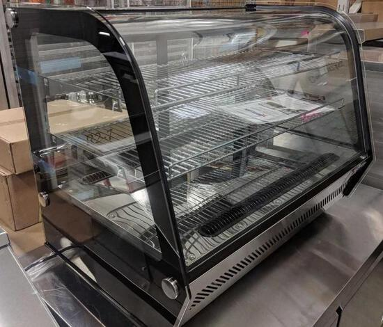 "35"" COUNTERTOP REFRIGERATED SHOWCASE - 5.65 CU. FT. - NEW"