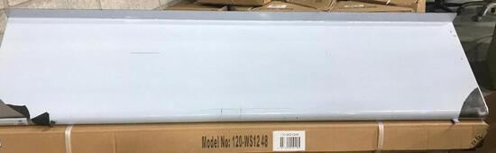 "WALL MOUNT S/S SHELF 12""X48"", 120-WS1248 - NEW IN BOX"