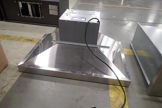 """Stainless Steel 30"""" Range Hood- No Mounting Hardware."""