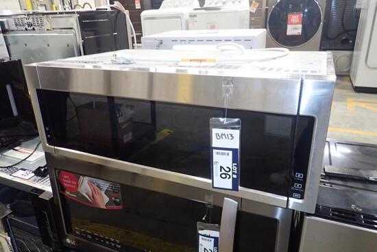 Whirlpool YWML55HS Stainless Steel OTR Microwave.