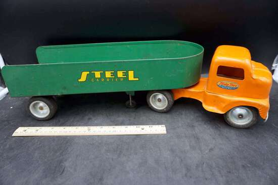 Tonka Toys Steel Carrier Truck