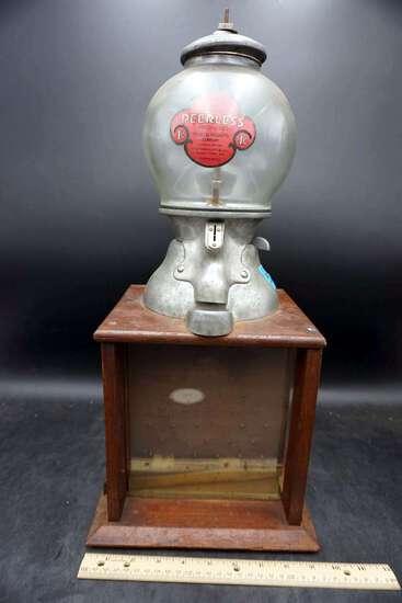 Peerless Penny Gumball machine