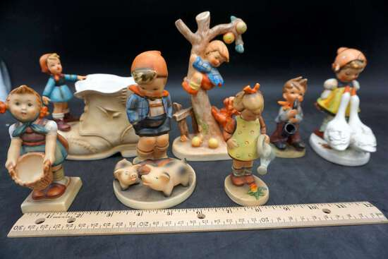 Various figurines, lot of 7
