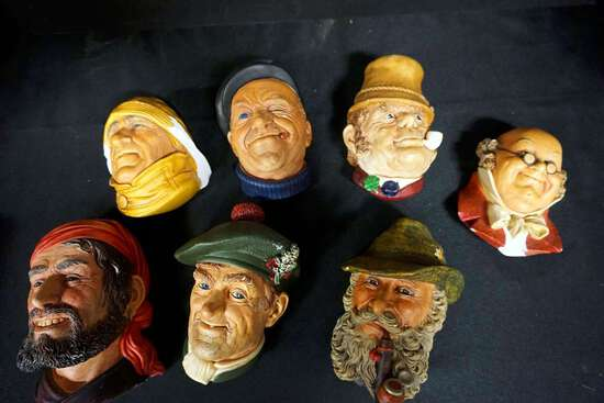 Lot of 7 Bossens Congleton, England
