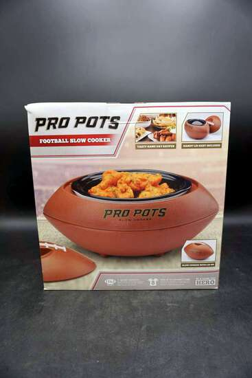Pro Pots Slow Cooker (Football)