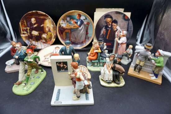 Lot of 13 Norman Rockwell