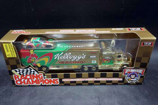 Racing Champions, 1/64, Car and Hauler, 50th Anniv. #5