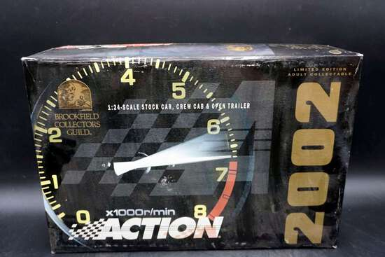 Action Racing, 1/24, Car, Truck and Trailer