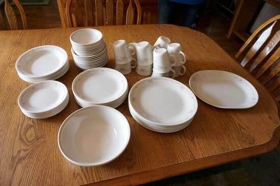 Large China dish set.