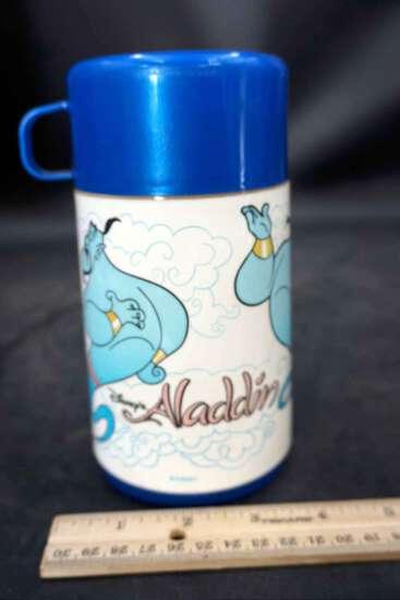 Nostalgic Aladdin Thermos and cup.