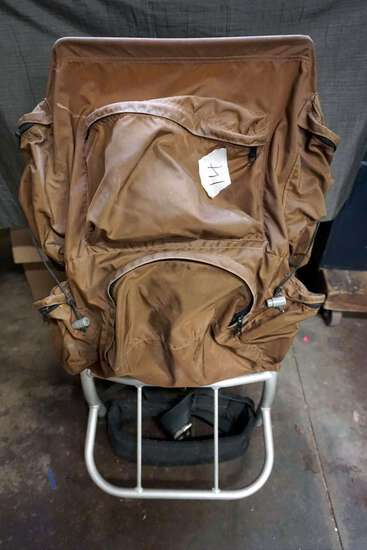 Camping and hiking backpack.
