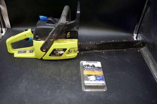 Poulan chainsaw.