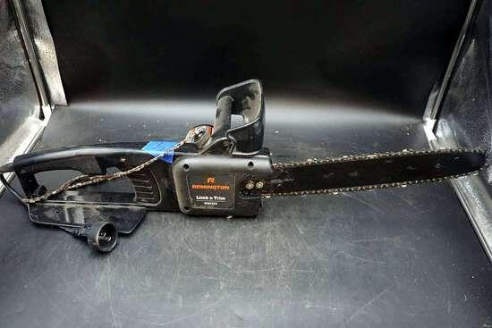 Remington electric Chainsaw.