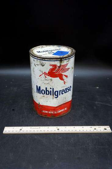 Mobilgrease Pegasus oil can.