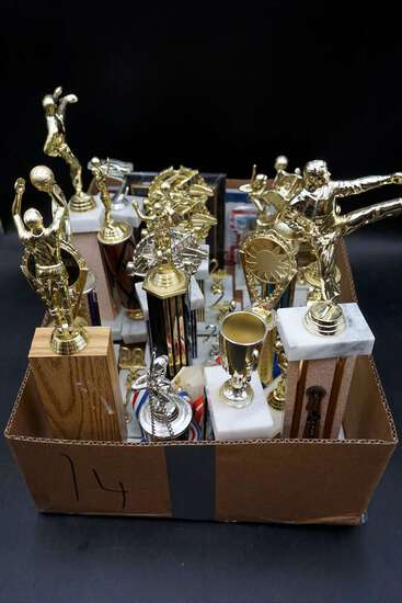 Assorted trophies, Make up your own story!
