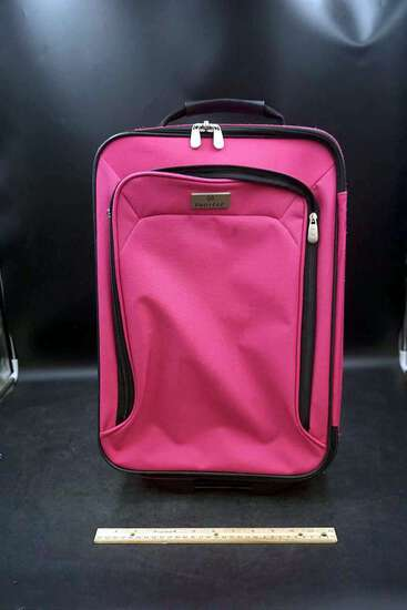 Protege Pink Travel Luggage