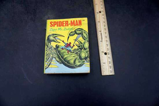 Spiderman Vs Mr Zodiac Comic (Big Little Books)