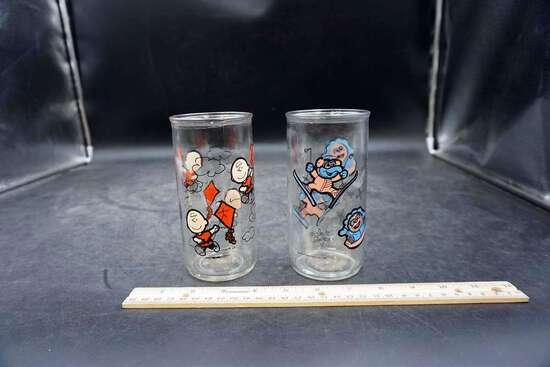 Vintage Collectors Glasses