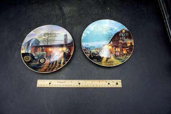 D. Barnhouse Heartland Collection Plates