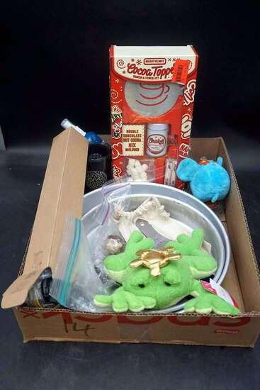 Hot chocolate kits, bowls, and more.