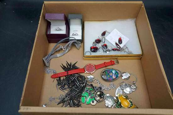 Costume jewelry, watches, and more.